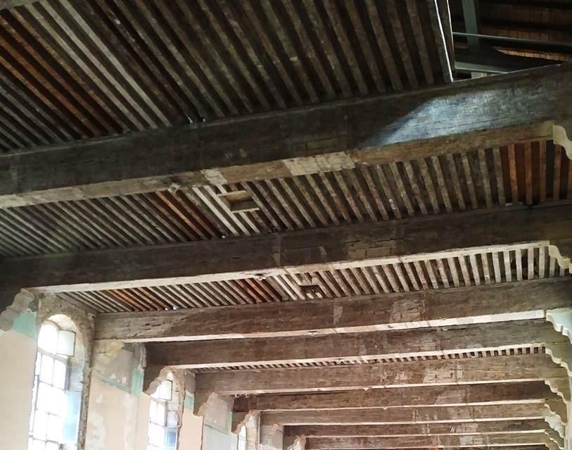 Groupe Maindron Restauration des planchers de l'Hôtel Dieu - Lyon