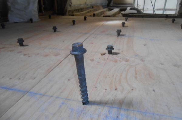 Groupe Maindron Planchers mixte bois-béton